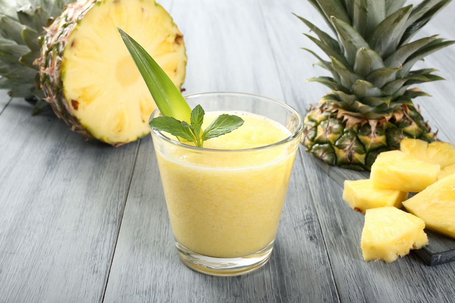 Mango Smoothie: The Yellow Mango Tango