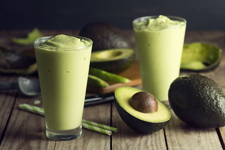 Avocado smoothie: Green Veggies