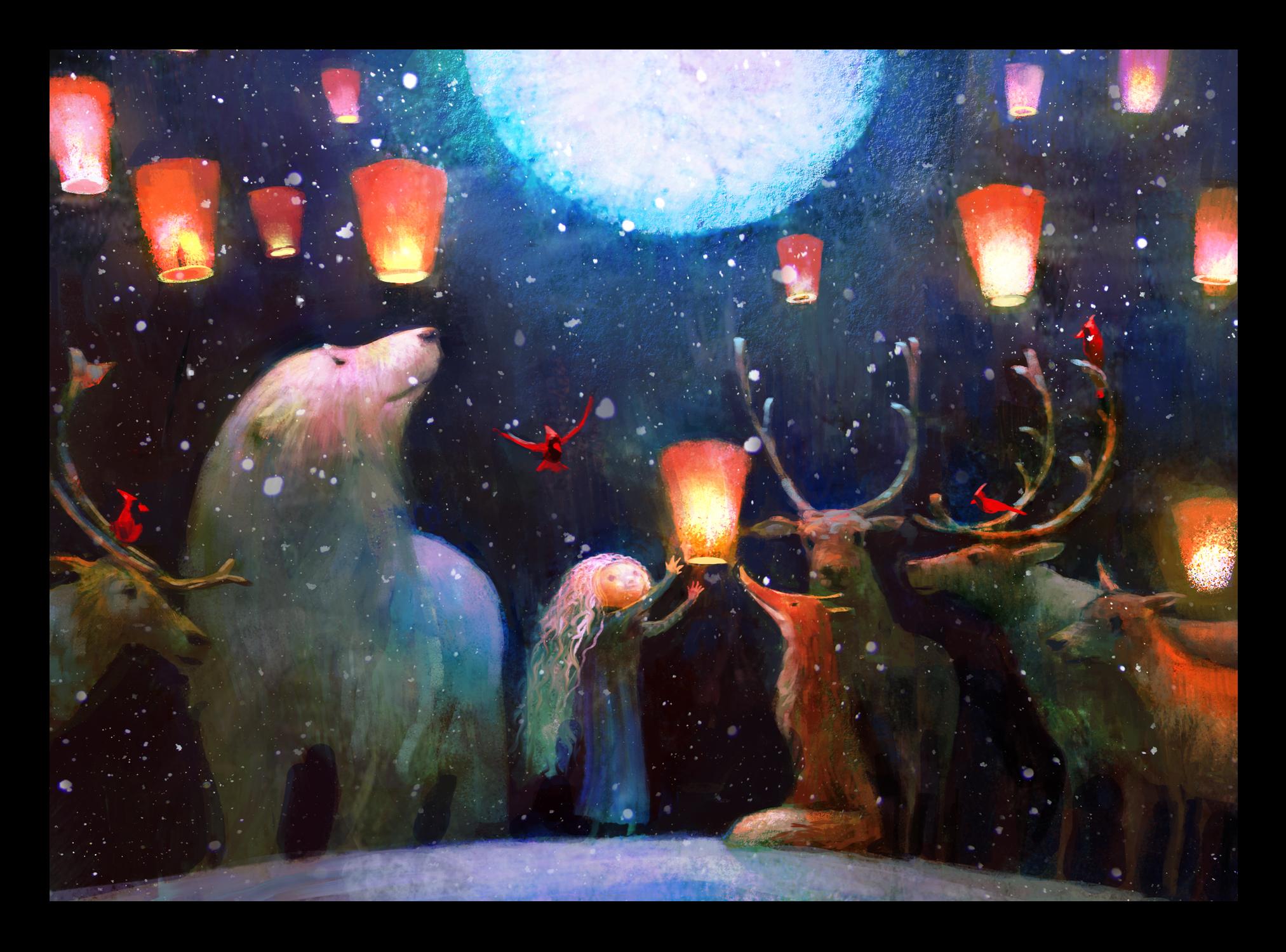 Pure Art Foundation Christmas Cards