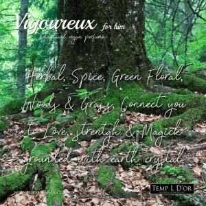 VIGOUREUX unisex botanical perfume by Kim lansdowne-Walker