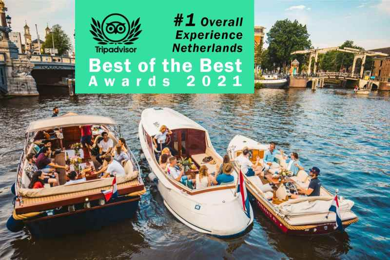 Ultimate canal cruise Amsterdam