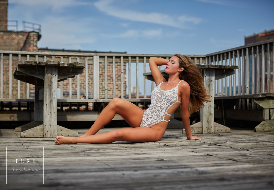 08 chicago boudoir outdoor lingerie session - Chicago Bridal Boudoir - A timeless Gift of Intimacy
