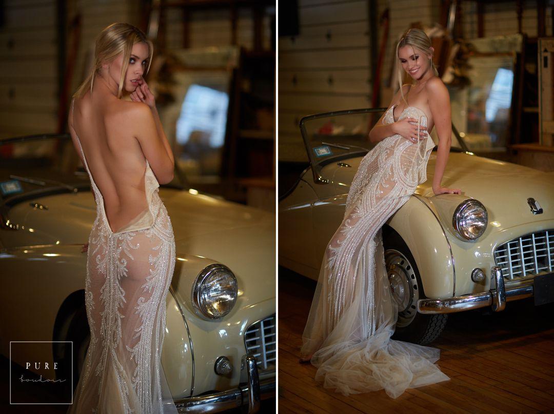 bridal boudoir bride wedding dress sexy - Listing E