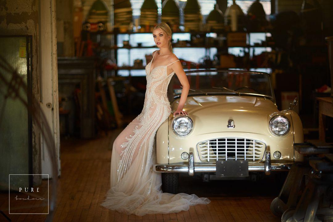 bridal boudoir chicago wedding dress - Listing E
