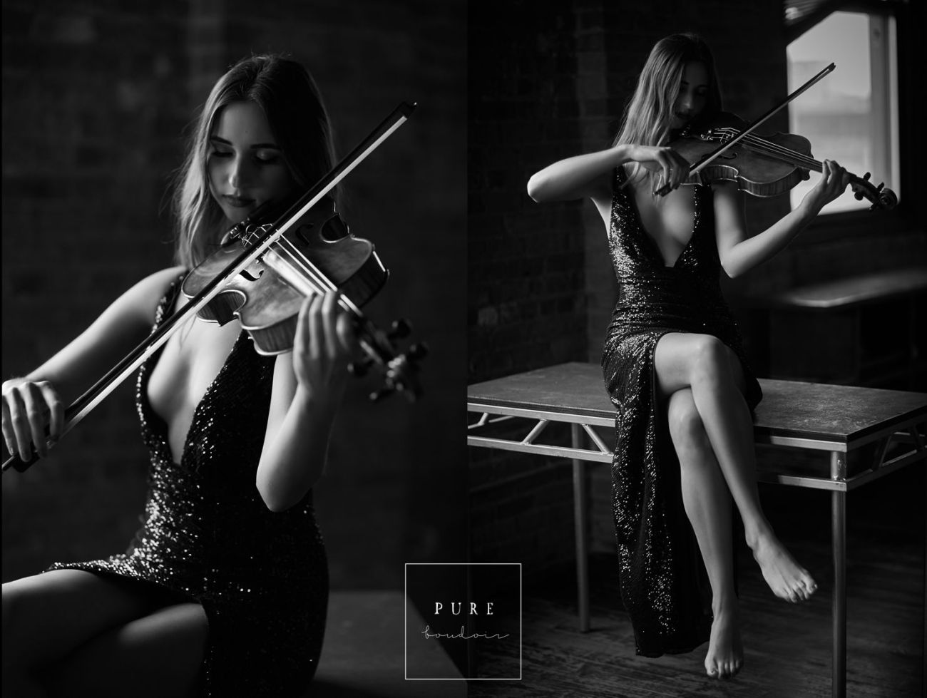 bnw sensual sexy boudoir photography - Female Photo Session with a Bit of Personal Touch