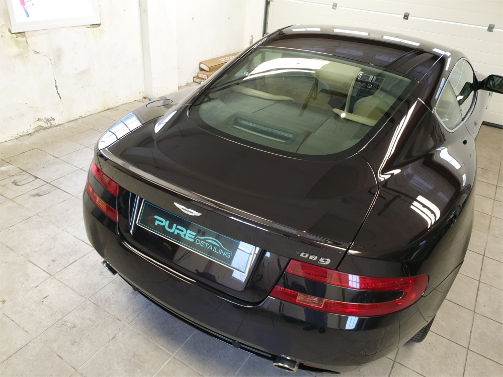 Aston Martin Valet by Pure Detailing Cornwall