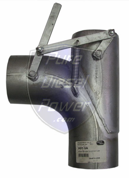 grand rock 5 inch exhaust diverter valve