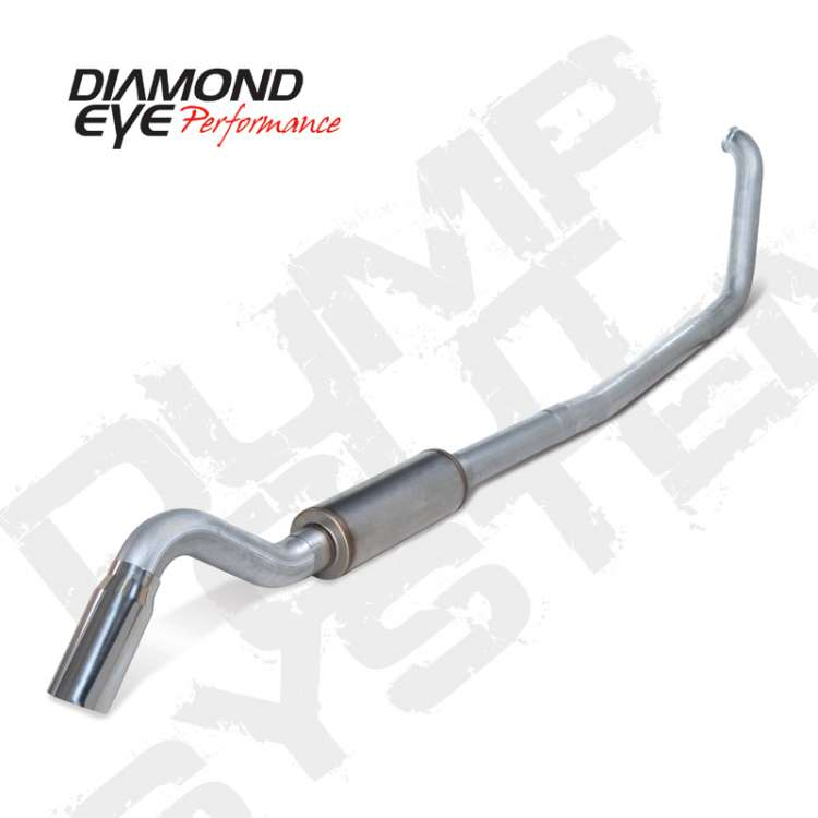 99 03 ford 7 3l powerstoke 4 in aluminized turbo back turn down exhaust