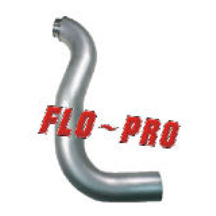 89 93 dodge 5 9l cummins 4 in flo pro aluminized turbo downpipe 28911