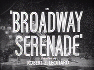 Broadway Serenade Credits