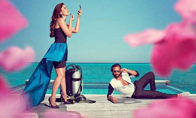 Kareena Kapoor and Saif Ali Khan Photoshoot