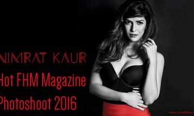 Nimrat Kaur Hot FHM Magazine Photoshoot 2016