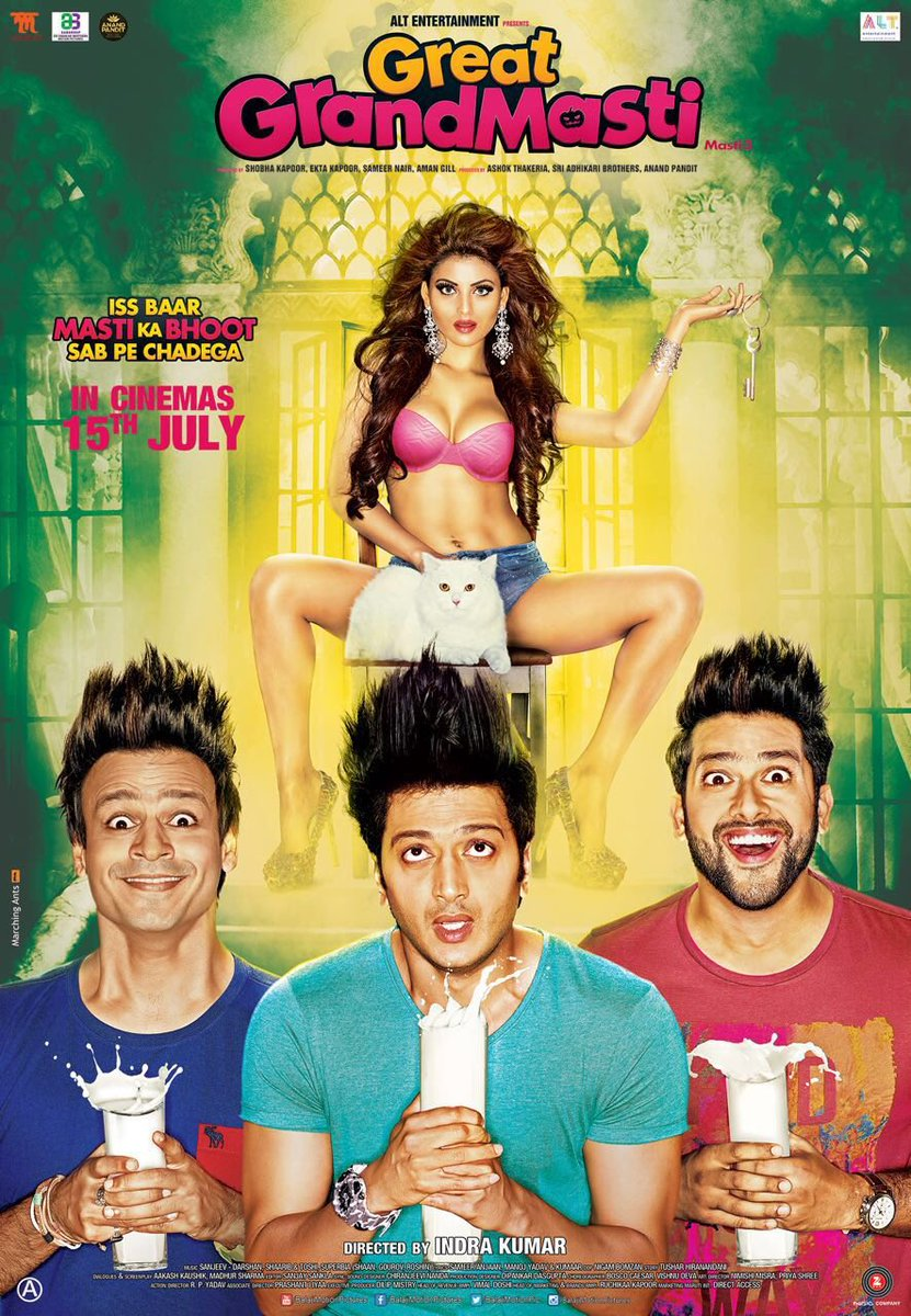 Great Grand Masti Official Poster