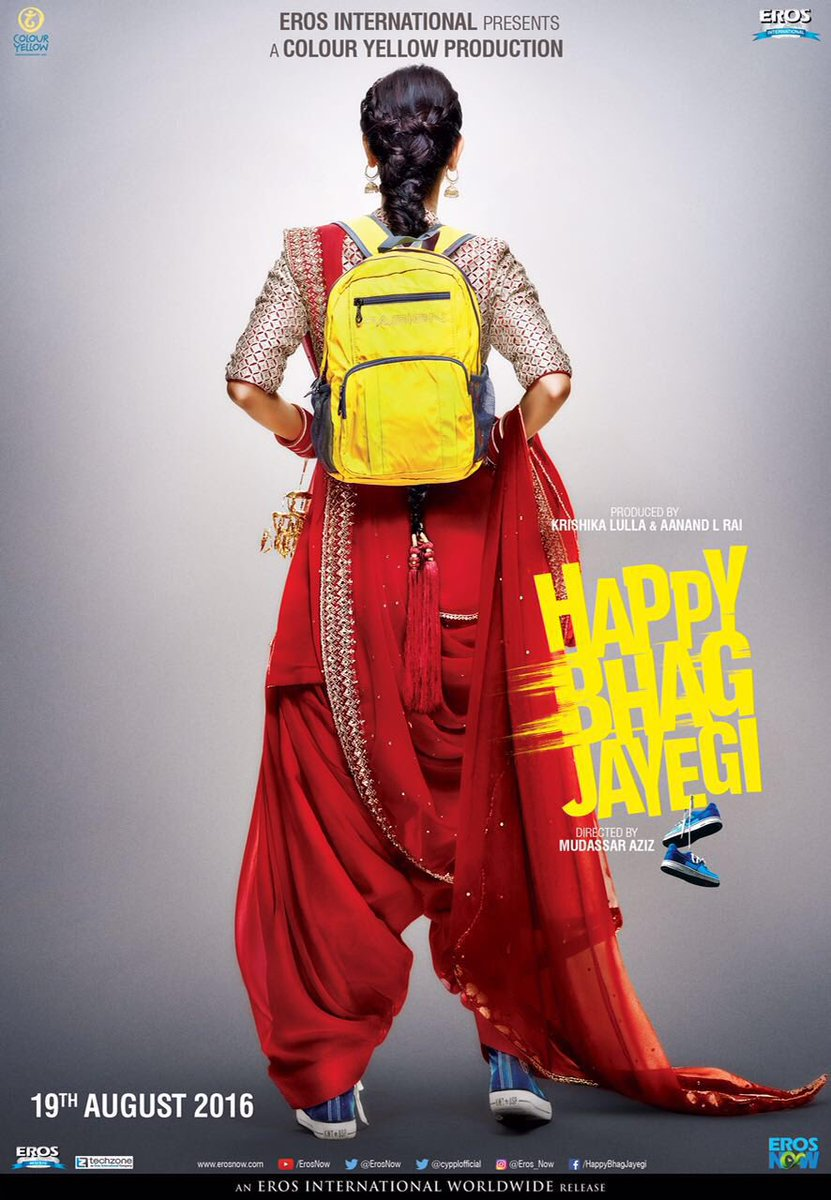 Happy Bhaag Jayegi official poster