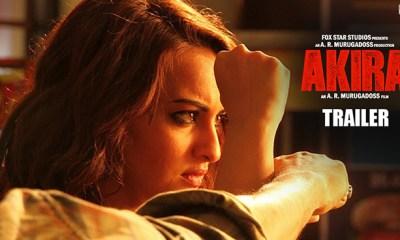 Sonakshi Sinha starer Akira Official Trailer