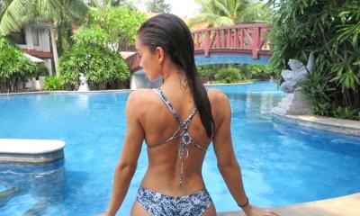 Hot Amy Jackson Latest Bikini Pics