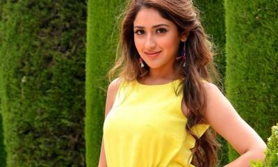 Saysha Saigal Hot Photoshoot 2016
