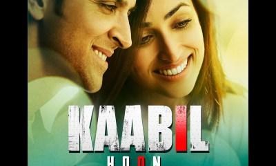Kaabil Hoon Song (Audio) Kaabil - Hrithik Roshan, Yami Gautam - Jubin Nautiyal, Palak