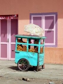 Food stall in Ruteng – Pure Flores Tours