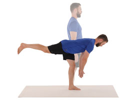 Running injury prevention - one leg deadlift