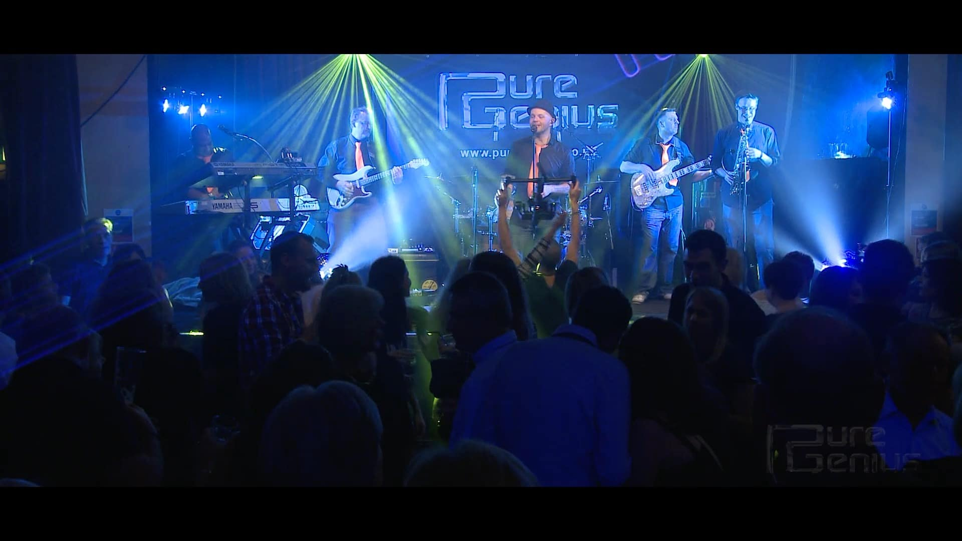 Pure Genius Wedding Party Function Band