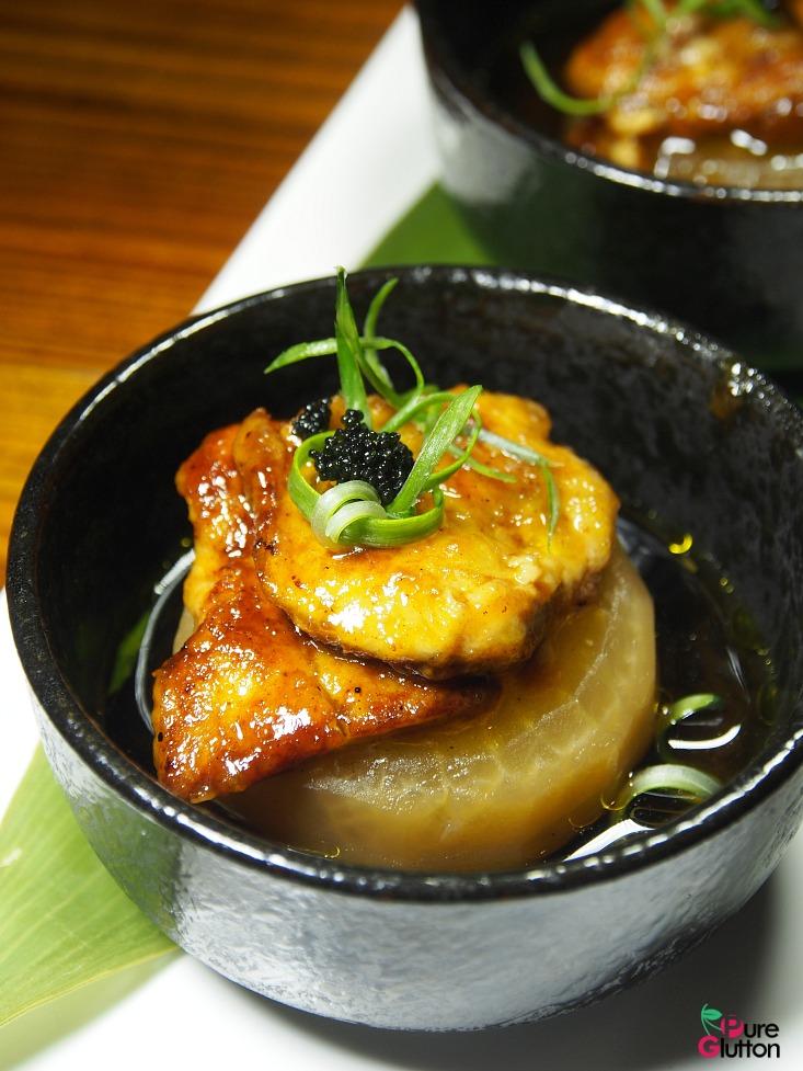 daikon foie gras