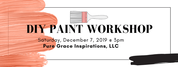 December 7 DIY Paint Workshop Planter Box