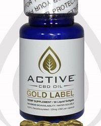 Discover CBD Active CBD oil – Gold 25%