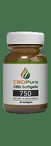 CBDPure Softgels 750