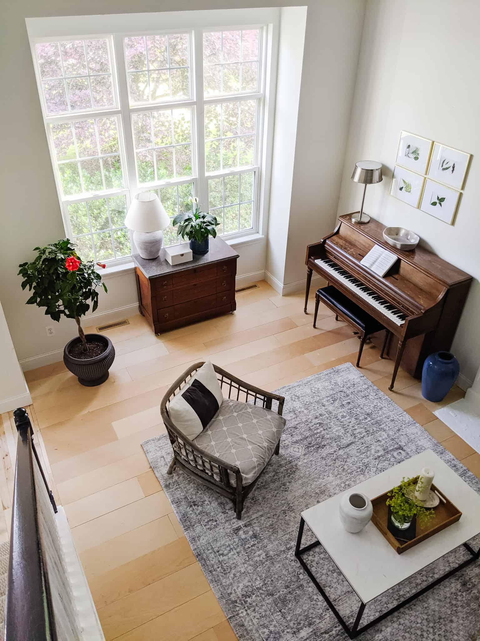 music room interior