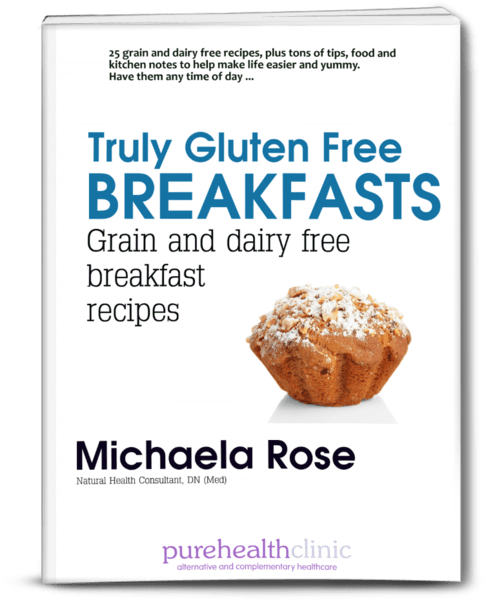 Grain and dairy free breakfasts book cover