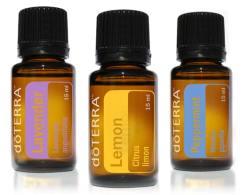 Beginners trio lemon - peppermint - lavender