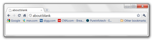 Chrome Bookmark bar clutter