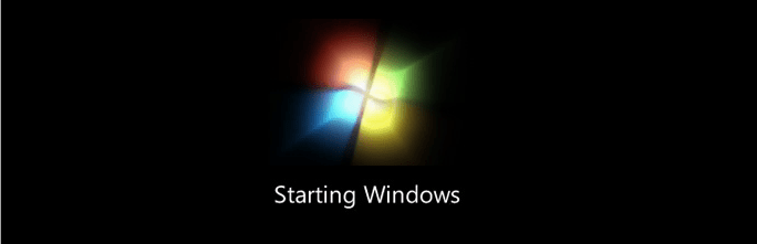 Windows 7 Startup animation