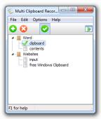 Multi Clipboard Recorder