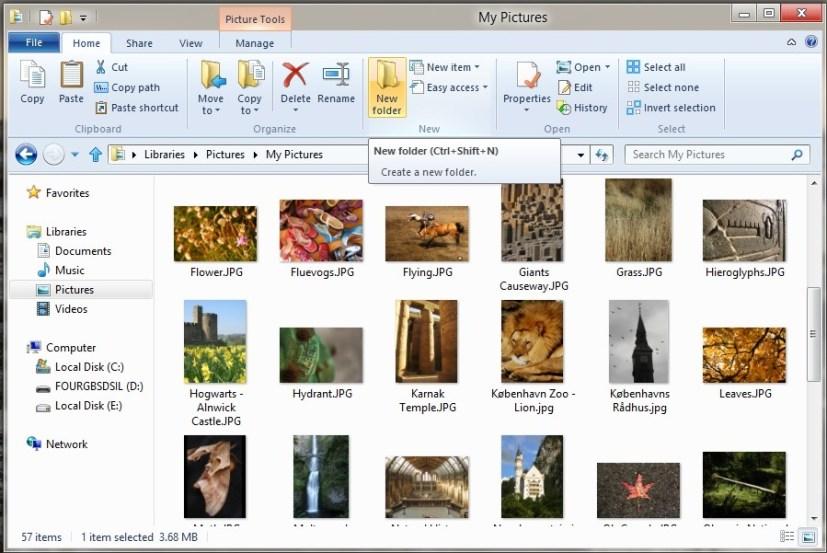 Tooltips - Windows 8
