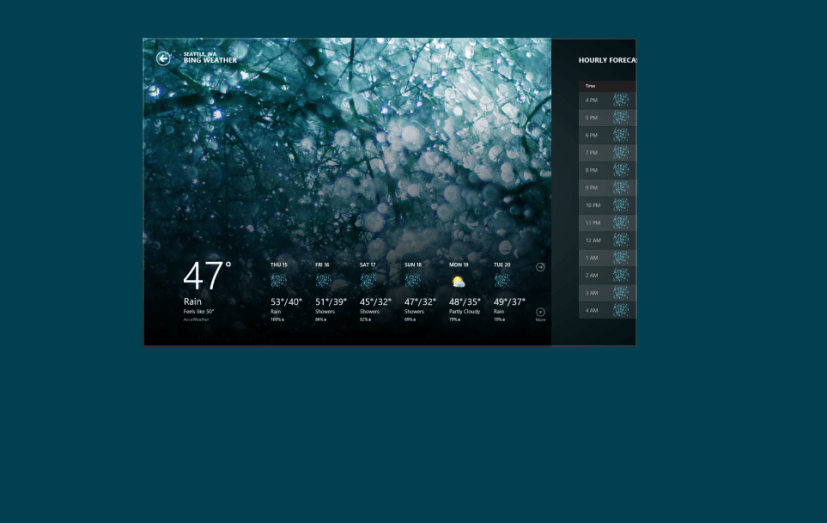 Close Metro style app Windows 8