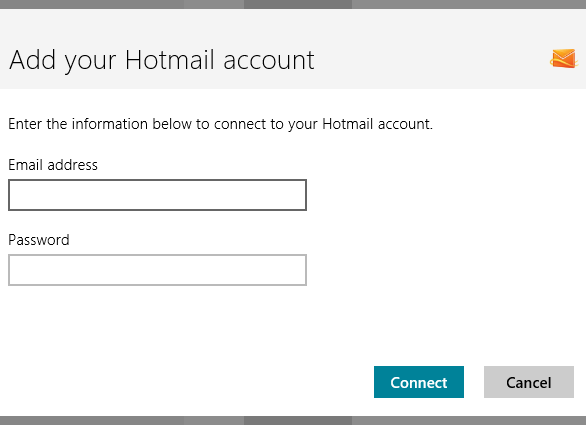 how to connect 2 hotmail emails accounts
