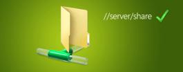 Network folder library Windows