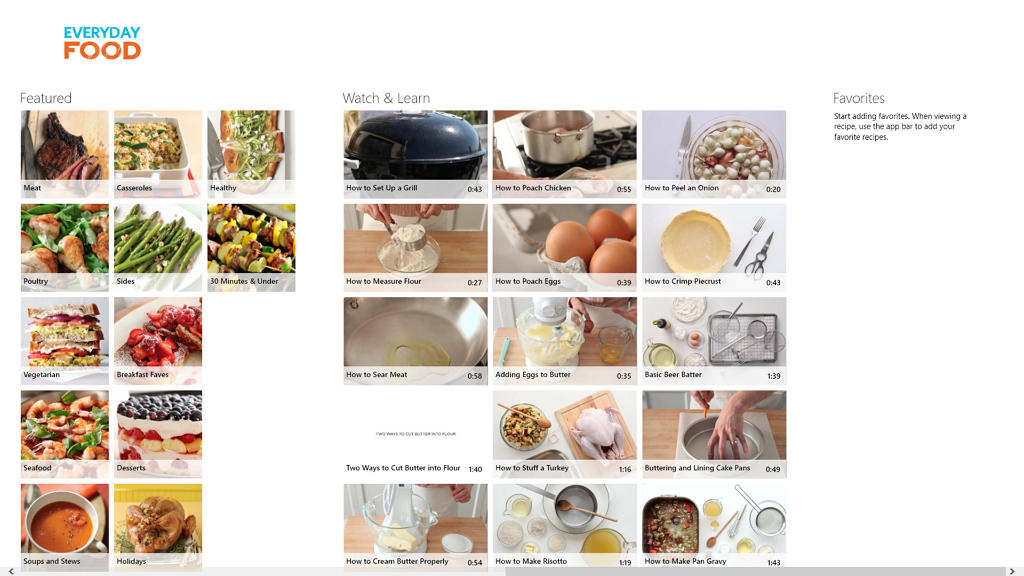 31 must have windows 8 apps to make thanksgiving dinner a success my first choice is the everyday food app because not only is a windows store app that is well designed and offers a great selections of recipes forumfinder Gallery
