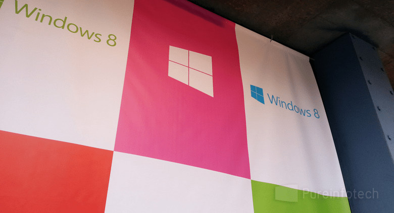 Win 8 launch wall