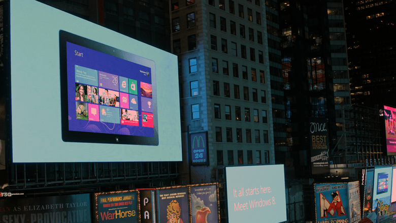 Surface with Windows 8 Pro scaling