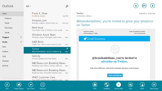 update mail app