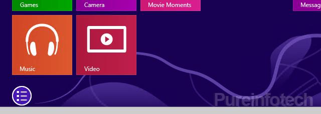All app button Start screen leak 9369
