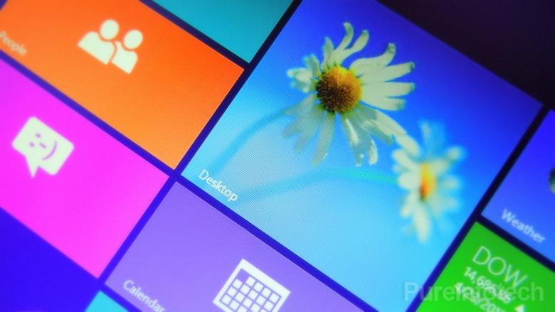 Windows 8.1 Blue build 9374 Start screen
