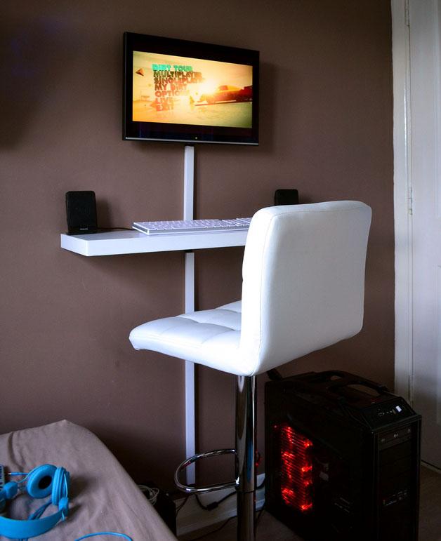 Diy Desk Small Space Novocom Top