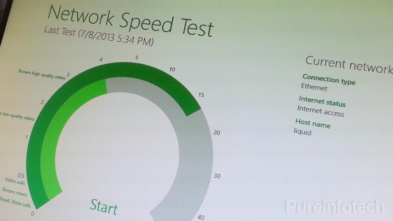 Network Speed Test app for Windows 8 from Microsoft Research