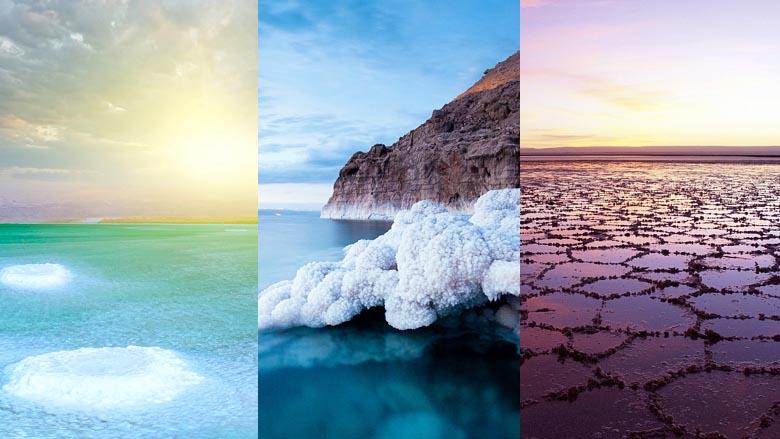 Salt lake and dead seas theme for Windows