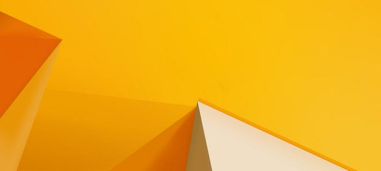 Default Yellow Orange Wallpaper Windows 81