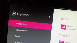 Network connections in Windows 8